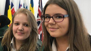 Students visit the EU Commission Building, Dublin.
